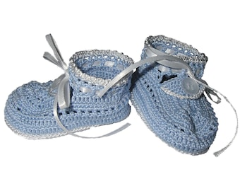 Blue Thread Booties