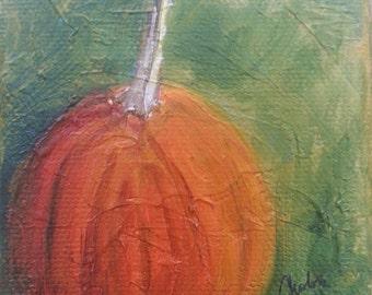 Pumpkin Study II- original artwork