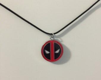 Deadpool Choker Style Necklace
