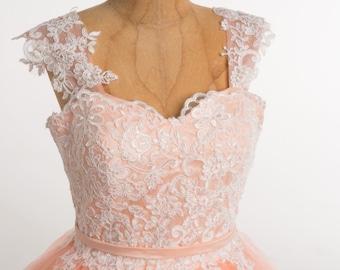 Ball gown Quinceañera dress