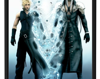 Final Fantasy Advent Children, Cloud and Sephiroth Poster