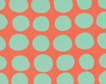 Fabric by the yard - Westminster - Amy Butler Love Sunspots Tangerine