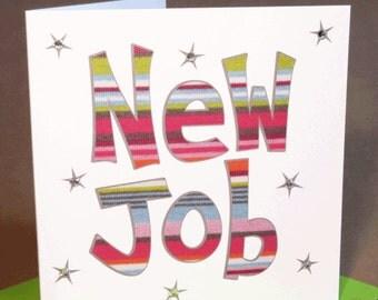 New Job Card  (jewelled)