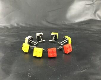 LEGO CUFFLINKS for Him, Wedding