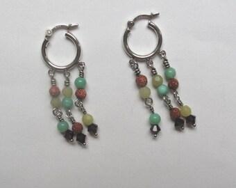3 strand Gypsy earrings
