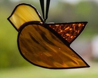 Honey Bird Stained Glass 6680