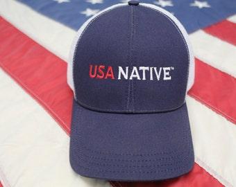 USA Native Cap - Navy