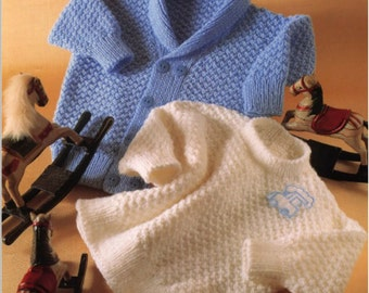 Knitting Pattern baby cardigan children jumper PDF Instant Download Nr.62