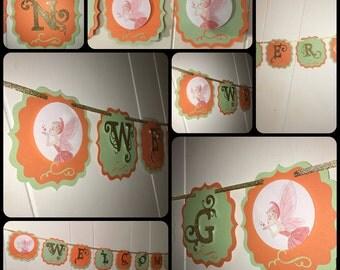 Fairy Babyshower Banner