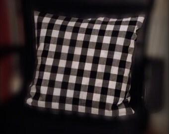 Gingham Check Cushion