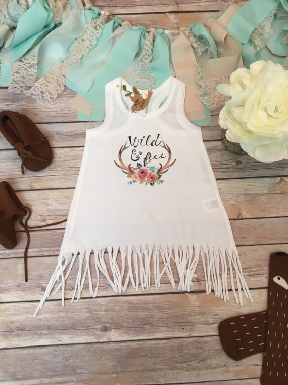 Boho Baby Clothes Wild and Free Baby Fringe Dress Cute Baby