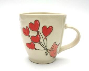 Mug- Flying Love