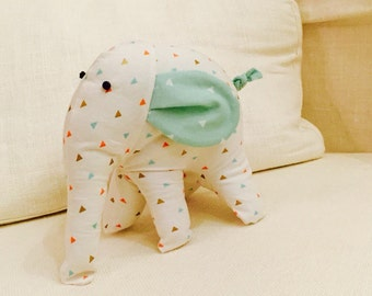 Modern Elephant Softie Toy for Children