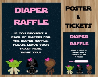 star wars diaper raffle star wars baby shower star wars baby star wars