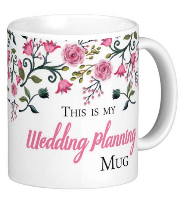Wedding Planning Gift Set : This is my wedding planning mug wedding planning gift