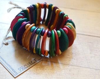 Beaded Kaleidescope Bracelet