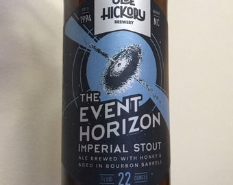 Olde Hickory Brewing - The Event Horizon (Repurposed - Craft Beer Candles)