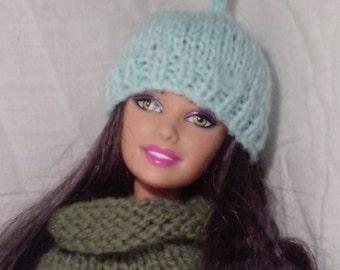 Pixie style beanie for Barbie