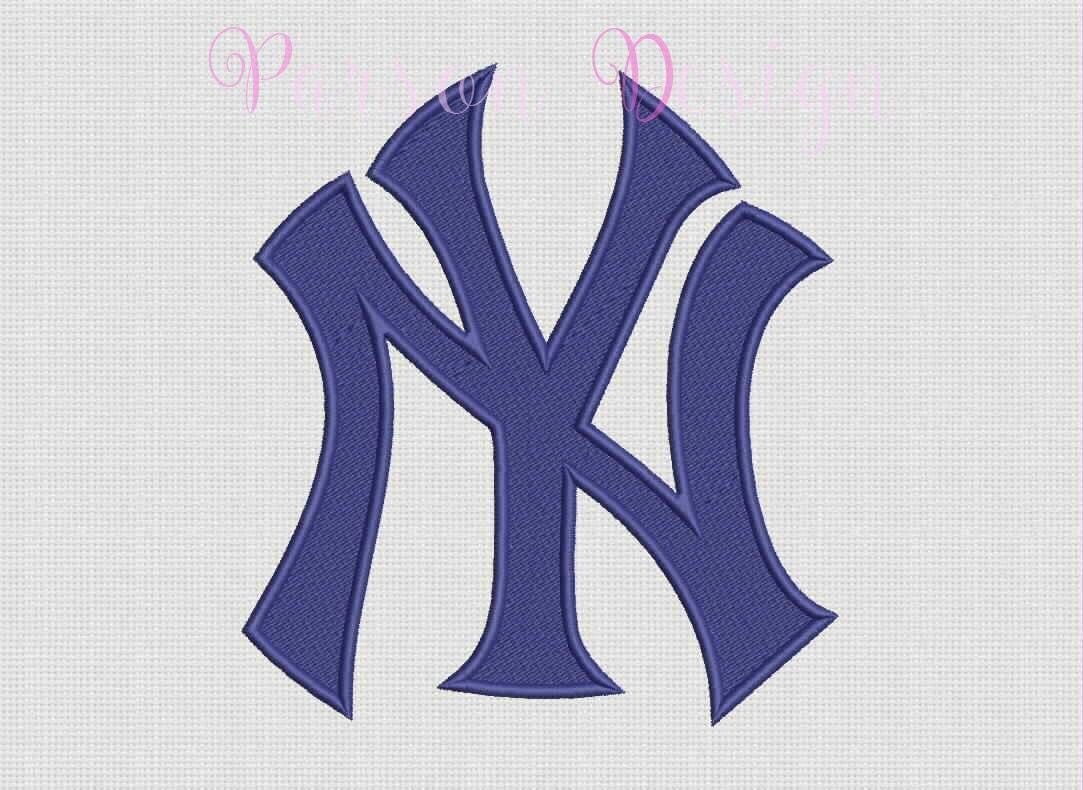 new york yankees 9 size embroidery designs baseball logos