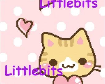 kawaii kitty 150x157