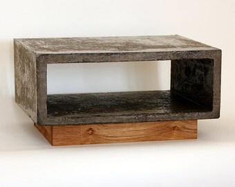 Modern Concrete Low Hight Side Table