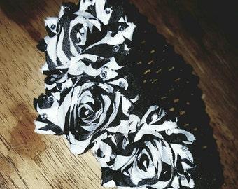 Handcrafted Zebra Print Headband