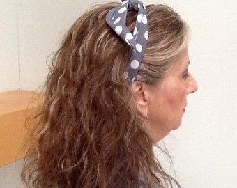 Headband with wire insert