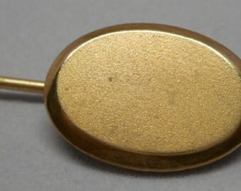 Antique Victorian Gold Filled Stick Hat Pin Brooch Nice!