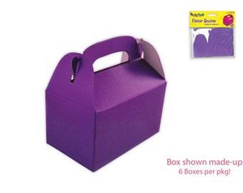 """8 favors boxes 3"""" x 1.75'' x  3''"""