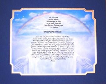 Prayer: The Hands Of God Prayer Of Graditude