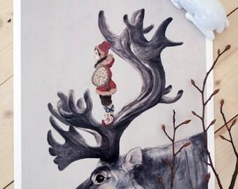 Print - Sami Shaman