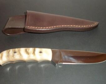 Hubertus Countryline, hunting and Freitzeitmesser, 440 C, with RAM's horn handle, new