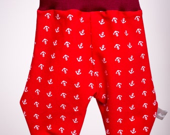 Baby Pants 'Red Anchor'