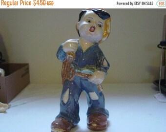 On Sale Vintage Hobo Boy Figurine