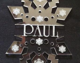 Personalised Snowflakes