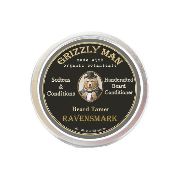PATCHOULI Grizzly Man Beard Balm/ Herbal Beard Conditioner/