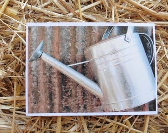 Watering Can. (card)