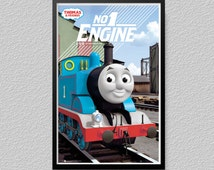 Thomas and Friends No 1 Engine Poster Picture Gift Kids Childrens Poster LP14