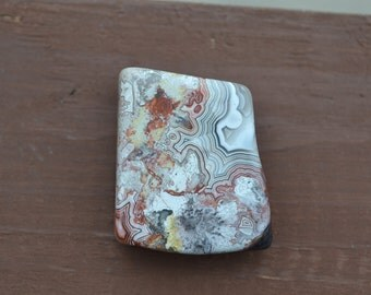 Crazy Lace Agate paperweight