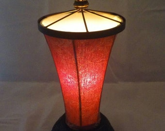 Lamp/Accent/ Table/Vintage/Cloth