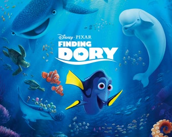 Finding Dory Giclee Print Poster FREE SHIPPING