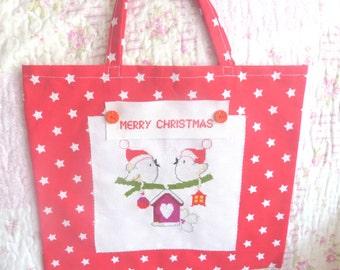 Christmas Gift Bag, Children's Christmas Gift Wrap, Christmas Bags, Gift Wrap,  Merry Christmas Bags