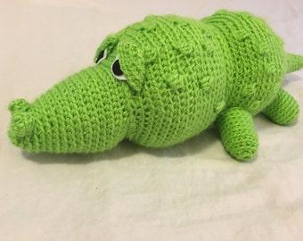 Crocodile Stuffed Animal / Neverland Toys / Safari Stuffed Animals / Stuffed Animals for Boys / Baby Boy Gifts / Safari Themed Baby Shower