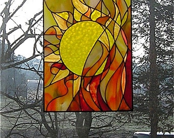 "Glass image ""Fire"""