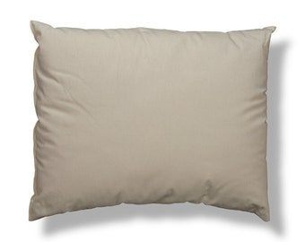 Just Right! Bed Pillows with Organic Cotton Cover