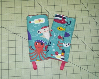 Under the Sea Baby Carrier Drool Bads