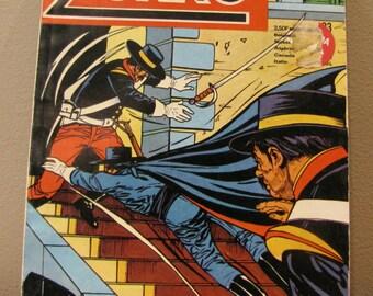ZORRO POCHE MENSUEL 1975, Zorro book, vintage book