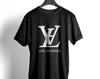 LA T SHIRT unisex Kanye West Tumblr California California Cali Hollywood hipster Delevingne Jay Z Los Angeles blogger LV.