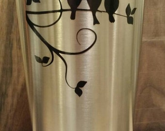 Wall decal, branch tree decal, decal branches, branch birds decal, decal birds