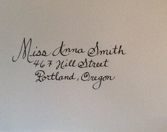 Calligraphy  Wedding Invitations and Special Occassions.